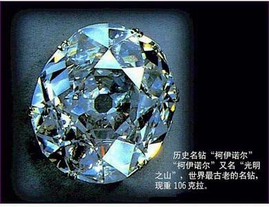 世界上最著名八大钻石