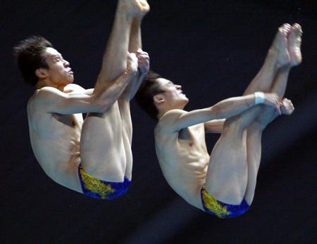 [十运会](12)跳水�D�D跳水战报
