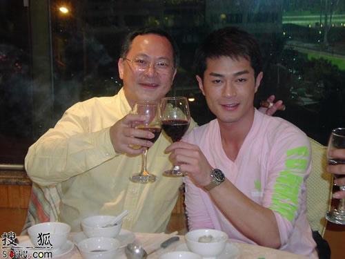杜琪峰 古天乐出席《黑社会》庆功宴(图)