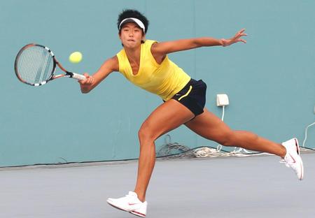 图文:十运网球决赛阶段