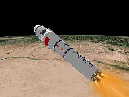 火箭发射全过程示意图-搜狐新闻中心