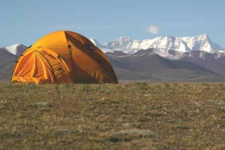营地的早晨