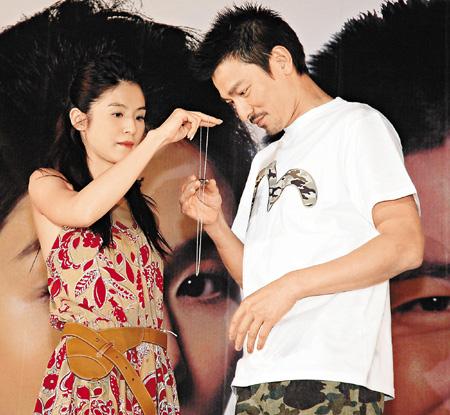 女星赞其100分老公 刘德华称未结婚不敢说(图)