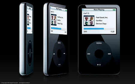 新款iPod正式发布,可视频播放299美金