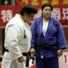 图文:十运会柔道比赛 孙福明主动放弃比赛