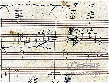 图说新闻 贝多芬晚年手稿重现
