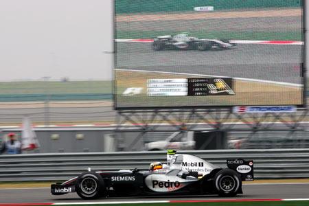 F1中国站首次练习:迈凯轮罗萨由始至终速度最快