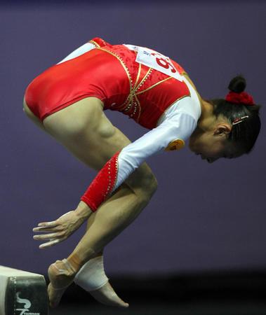 图文:十运体操全能