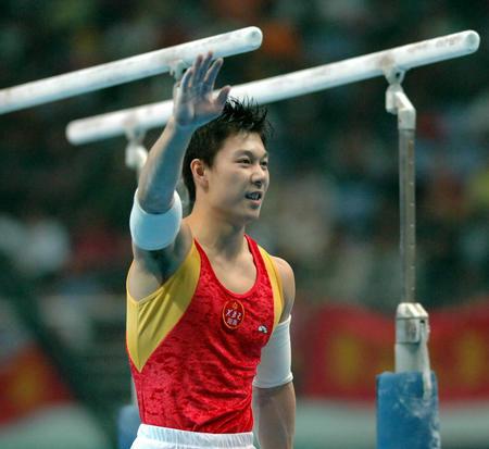 图文:十运会体操比赛