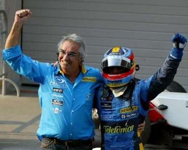 图文:05赛季F1比赛在上海落幕 阿隆索夺冠
