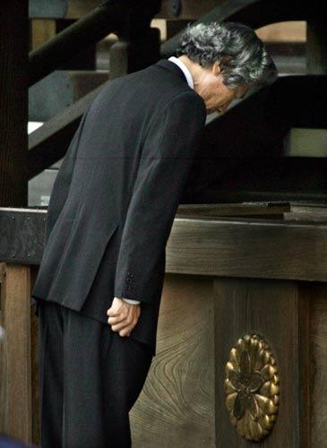 共同社:日首相小泉上任以来第5次参拜靖国神社