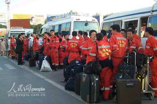 组图:中国国际救援队在巴基斯坦剪影