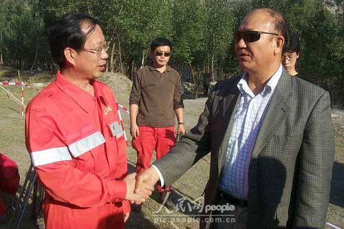组图:中国国际救援队在巴基斯坦剪影(9)