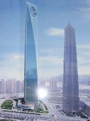 沪第一高楼2008年竣工