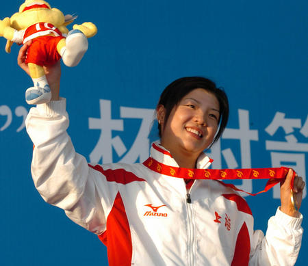 图文:十运射箭女子个人决赛