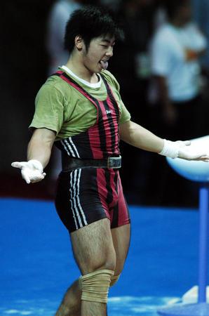 图文:十运举重男子85公斤级