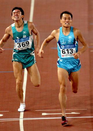 图文:十运男子1500米决赛