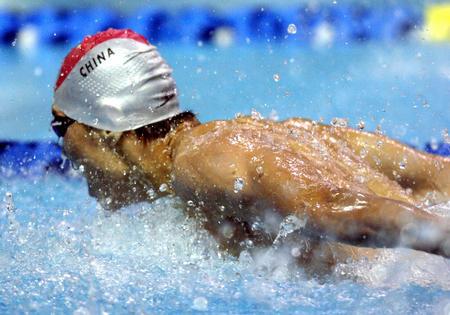 图文:十运会游泳赛况