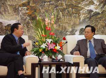 河南省委书记徐光春谈和谐社会与网络传播
