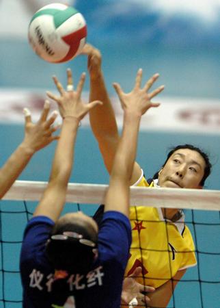 图文:十运会女排半决赛