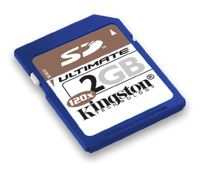 金士顿2GB SD卡提速又加量 玩转数码娱乐