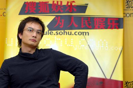 """李泉做客搜狐 与主持人大谈男人""""内裤经"""""""