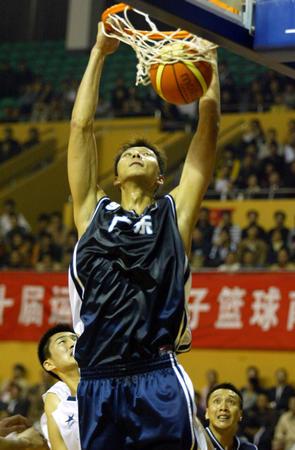 图文:十运会篮球