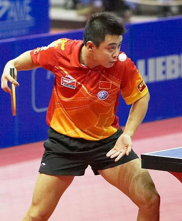 [体育](4)乒乓球�D�D世界杯赛:王皓杀入决赛