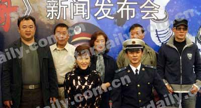电视前沿大型电视连续剧《神舟》新闻报道实力派演员高明以前演杜淳演的v电视战争片图片