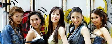 韩国美女组合遭遇集体车祸两人重伤入院(图)