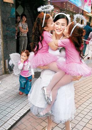 张柏芝最爱混血儿小孩 不排斥现阶段怀孕(图)