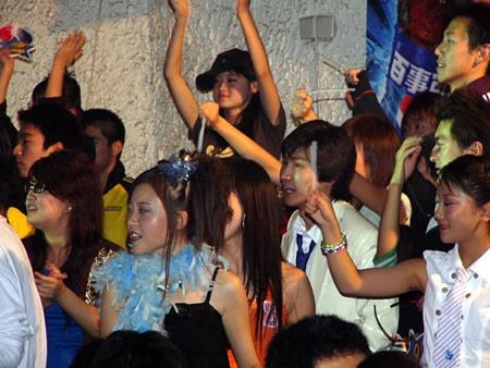 组图:百事新星大赛北京/河北赛区现场