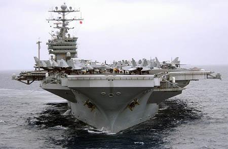 美国要派最强核动力航母驻扎日本 意在威慑台海