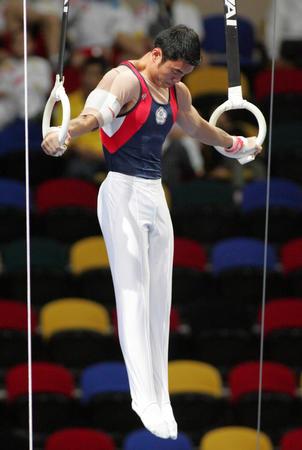 图文:东亚运体操比赛落幕