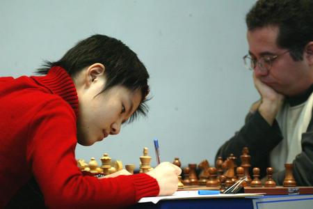 [体育](4)国际象棋�D�D团体世锦赛第二轮:中国女队不敌古巴队