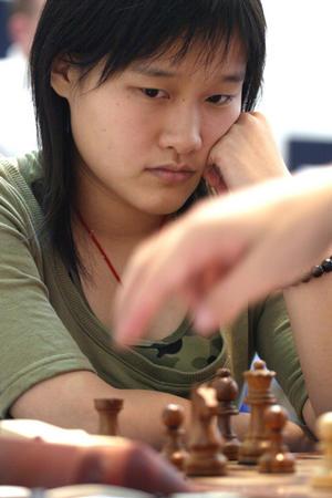 [体育](1)国际象棋�D�D团体世锦赛第二轮:中国女队不敌古巴队