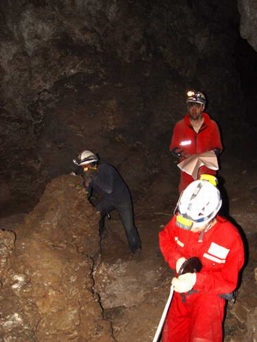 中美联合探测红岩洞照片集