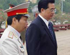 2005.10 胡锦涛访问朝鲜越南