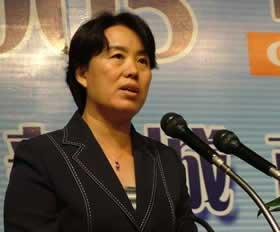 到会嘉宾:北京奥组委秘书行政部部长韩子荣