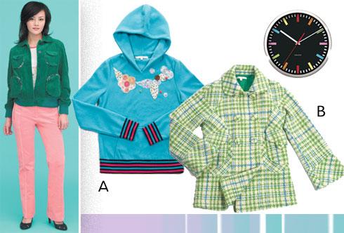 服装:初冬诱惑,15套百变俏装备