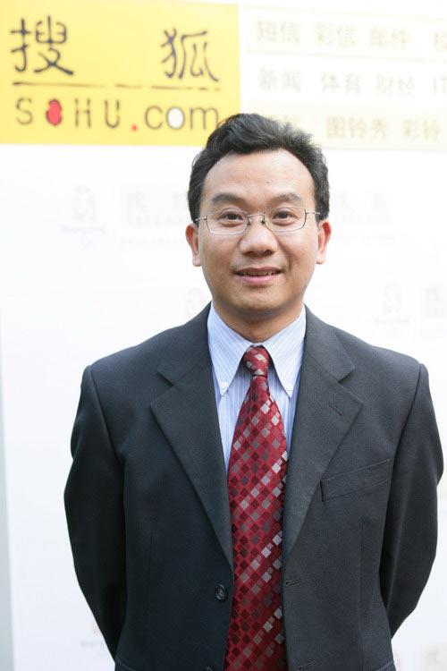 图文:搜狐公司副总裁陈陆明接受专访