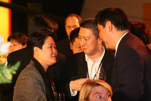 组图:北京2008奥运会新选择发布会晚宴现场嘉宾