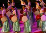 图文:东亚运动会在澳门闭幕 大型文艺表演