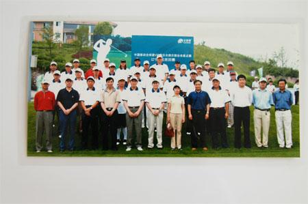 图文:全球通高尔夫锦标赛 辽宁赛区选手合影