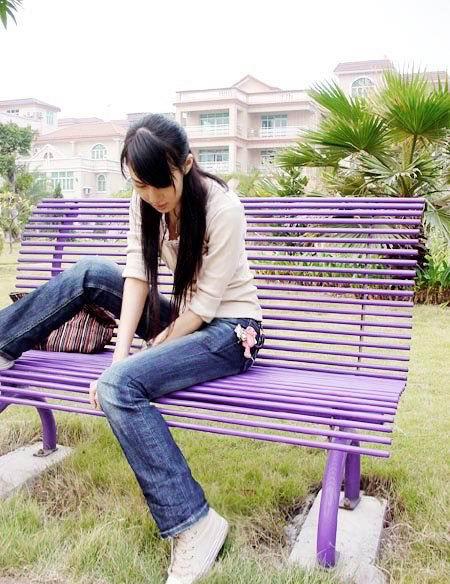 大眼长腿的广州美女图