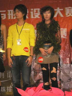 组图:首届中国国际造型师电视大赛-1
