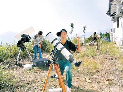 包头中学生发现小行星(图)学校初中的广州图片