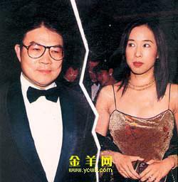 朱玲玲再传婚姻触礁弃夫姓 与霍震霆离婚(图)