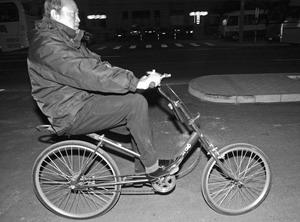 市民欲送小布什改装自行车(图)