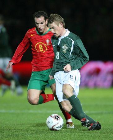 图文:北爱尔兰1-1逼平葡萄牙 佩蒂特奋力防守